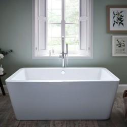 Kartell Options UK Made Heavy Duty Acrylic Modern Freestanding Bath 1700mm x 800mm