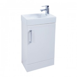 Kartell Liberty Cabinet With Basin Modern Vanity Unit Floor Standing