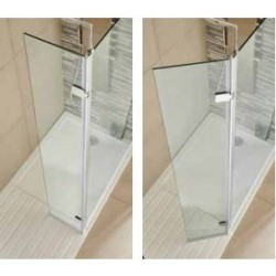 Kartell Koncept Hinged Return Shower Panel 300mm