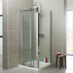 Kartell Koncept Bi-Fold Door Rectangle Shower Enclosure