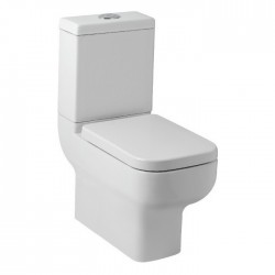 Kartell Options 600 Ceramic Close Coupled Toilet WC Pan With Cistern And Soft-Close Seat
