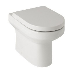 Kartell Revive Ceramic Back To Wall Toilet WC Pan With Soft-Close Seat