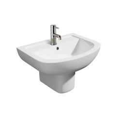 Kartell Studio Ceramic Semi Pedestal With Basin 550mm