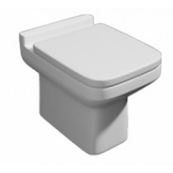 Kartell Trim Ceramic Back To Wall Toilet WC Pan With Soft-Close Seat