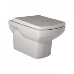 Kartell Aspect Ceramic Wall Hung Toilet WC Pan With Soft-Close Seat