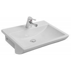 Kartell Aspect Ceramic Semi Recessed Basin 550mm