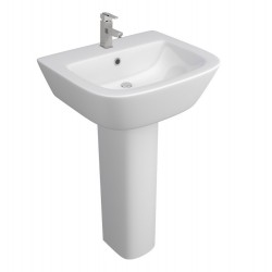 Kartell Project Ceramic Full Pedestal With Basin 530mm