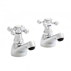 Kartell Viktory Brass Basin Taps Pair
