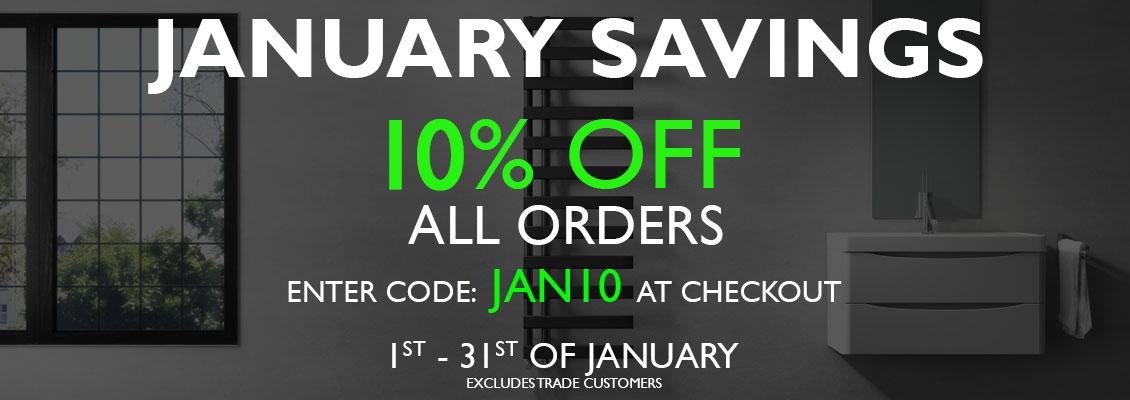 10% off orders. Code: JAN10