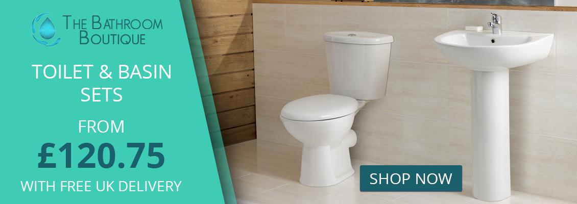 Bathroom Suites | Cheap Baths, Toilets, Basins, Showers, Taps ...